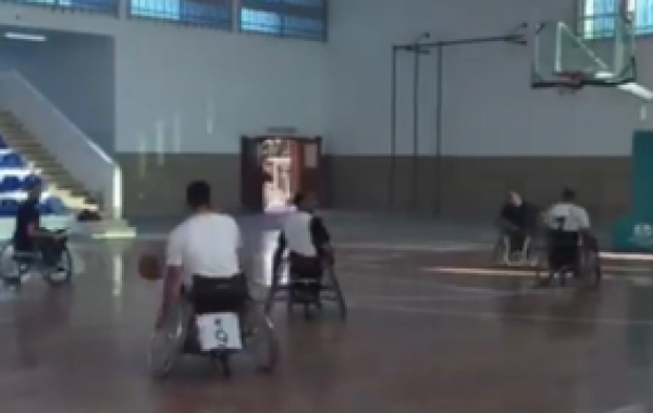 Visit a basketball field in Tripoli